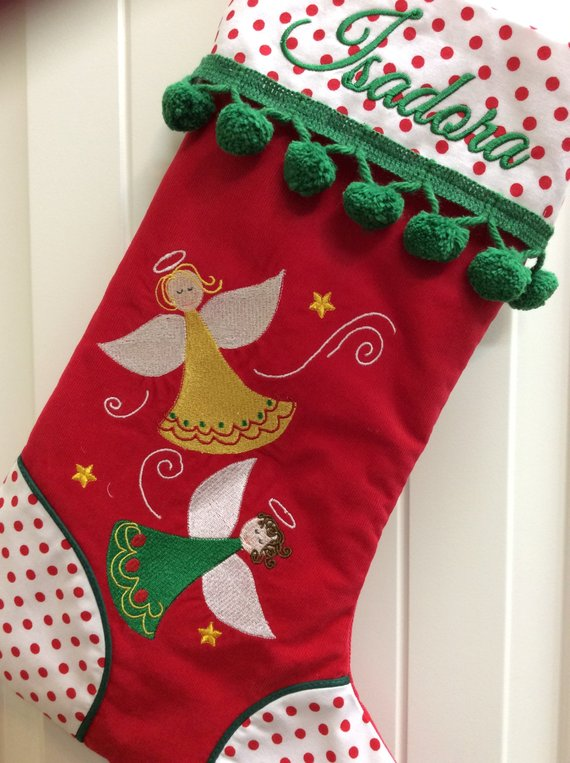 Personalized Christmas Stockings, Family Christmas Stockings, Pet