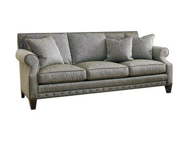 Sherrill Three Cushion Sofa Loose Seat Cushion Loose Pillow Back