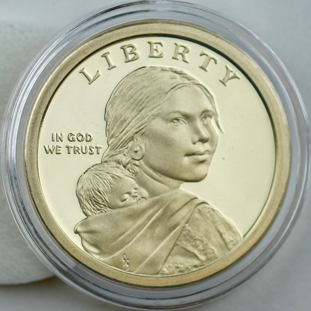 2014 S Proof Native American Dollar