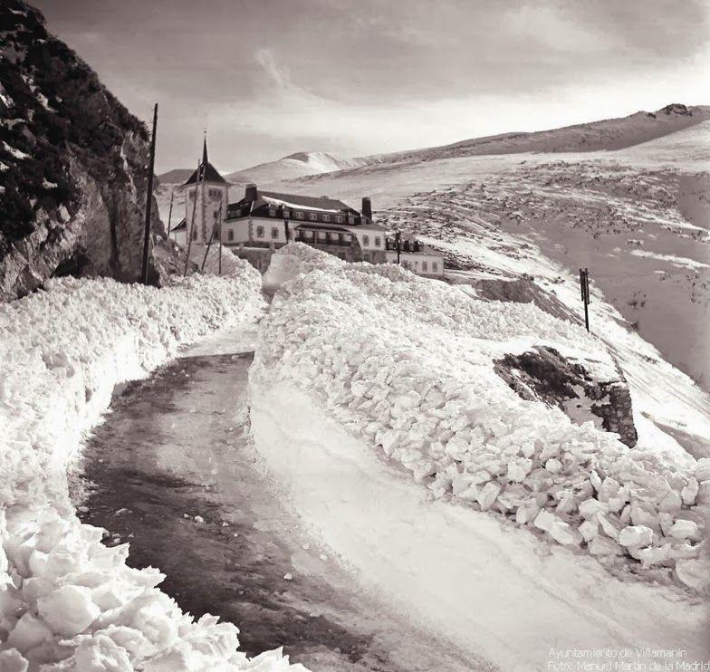 """El blog de """"Acebedo"""": La estación de esquí de Pajares nació el 17 de ene..."""
