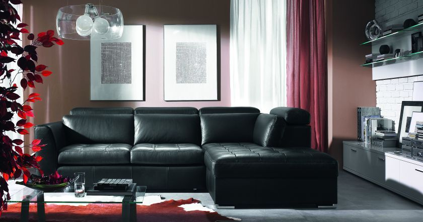 Nice Simple Living Room Decorating Ideas For Your Home Design Ideas Living Room Simple Livin Living Room Leather Black Living Room Black Furniture Living Room