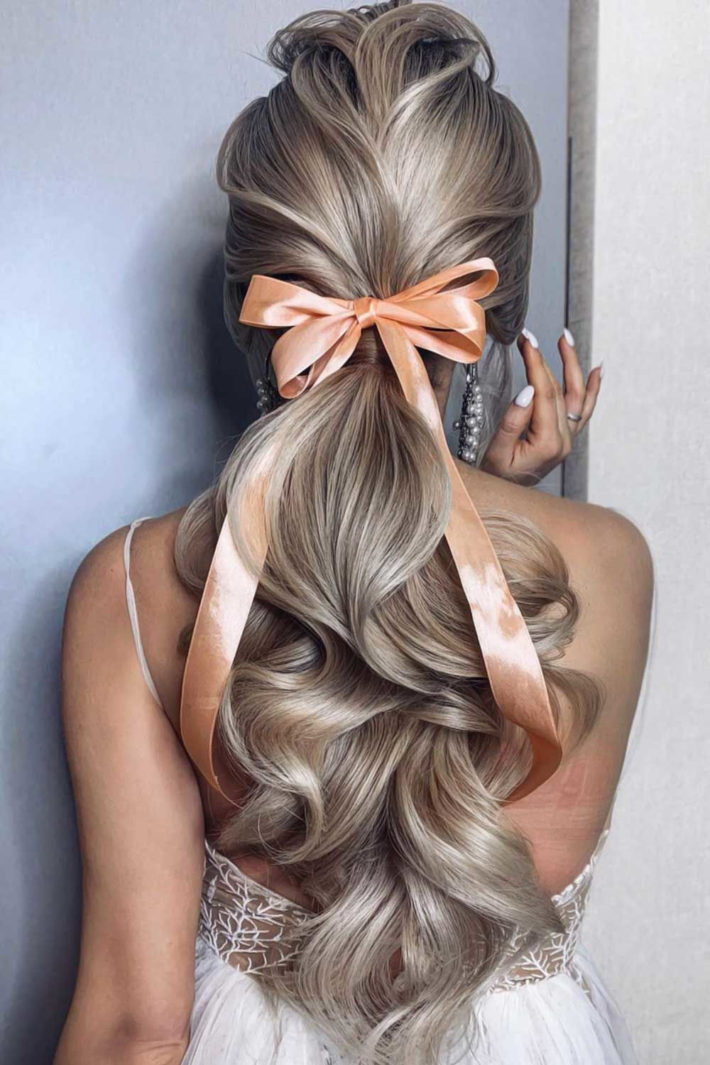 50 Bridesmaid Hair Styling Ideas Lovehairstyles Com In 2020 Hair Styles Wedding Ponytail Hairstyles Down Hairstyles
