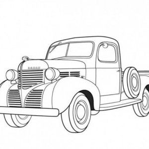 Classic Cars Sedan Classic Cars Coloring Pages Oldsmobile Classic Cars Coloring Pages Mercedes Be Cars Coloring Pages Old Dodge Trucks Truck Coloring Pages