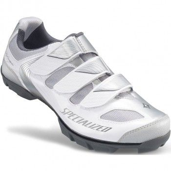 Specialized Women's Riata Shoes WhiteSilver | Bike shoes