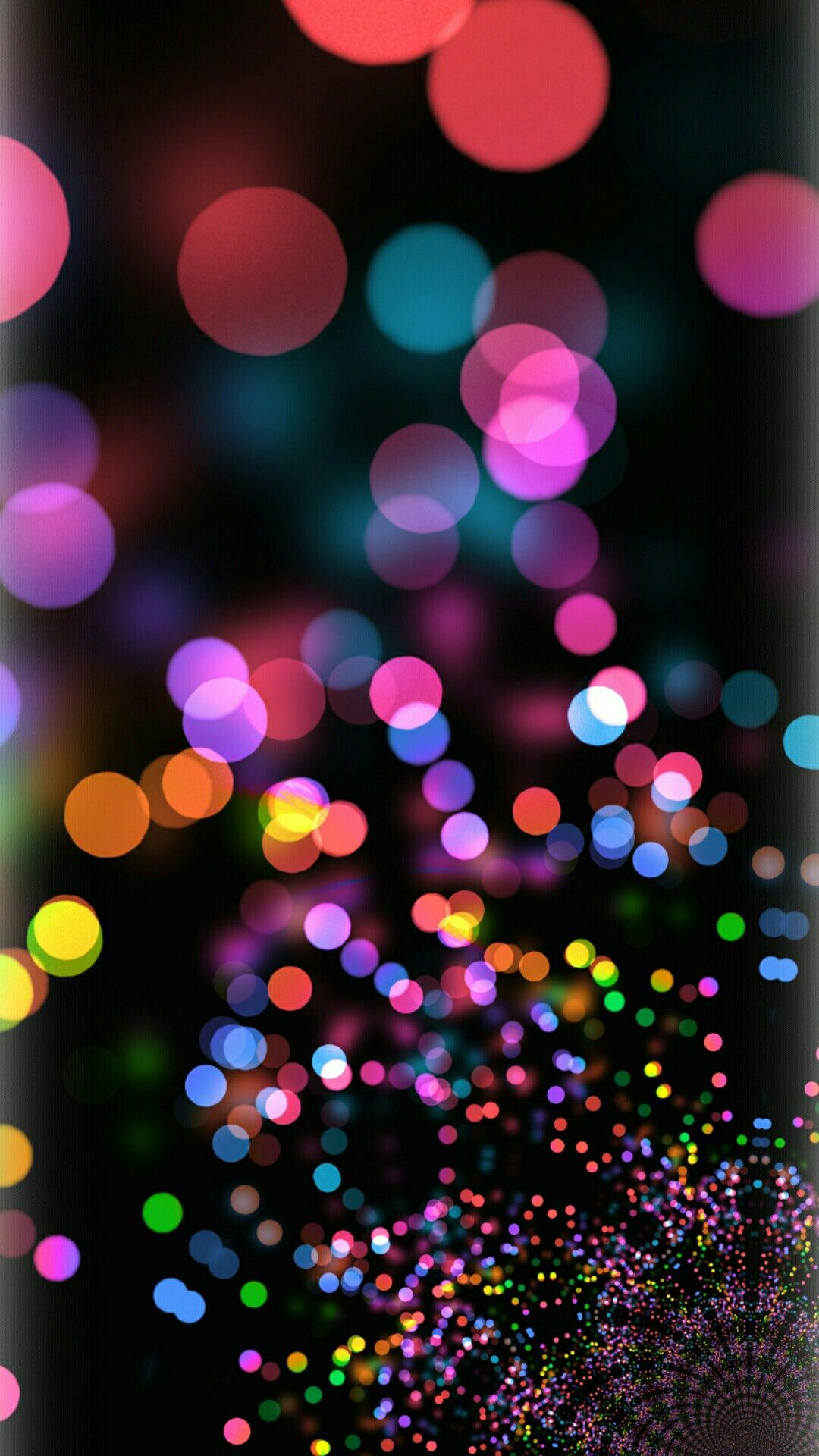 bright colored bokeh Hello wallpaper, Background images