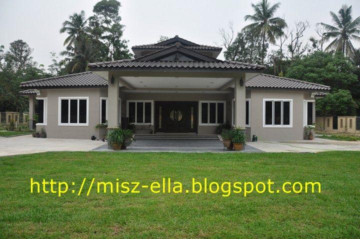 Image Result For Gambar Rumah Banglo Cantik