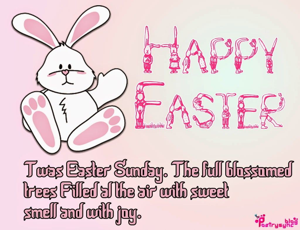 Happy easter poems happy easter wishes picture cards with happy easter poems happy easter wishes picture cards with greetings messages kristyandbryce Choice Image