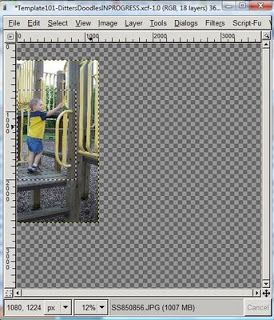 GIMP Tutorials: Using Templates In Gimp