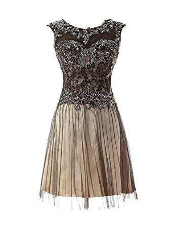 Rückenfrei Homecoming Dress