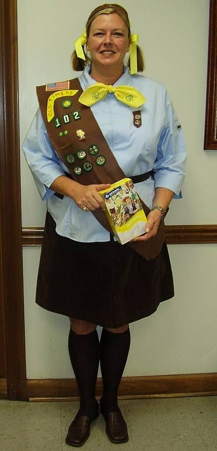 brownie girl scout costume visit your local goodwill store for all your halloween shopping wwwgoodwillvalleyscomshop
