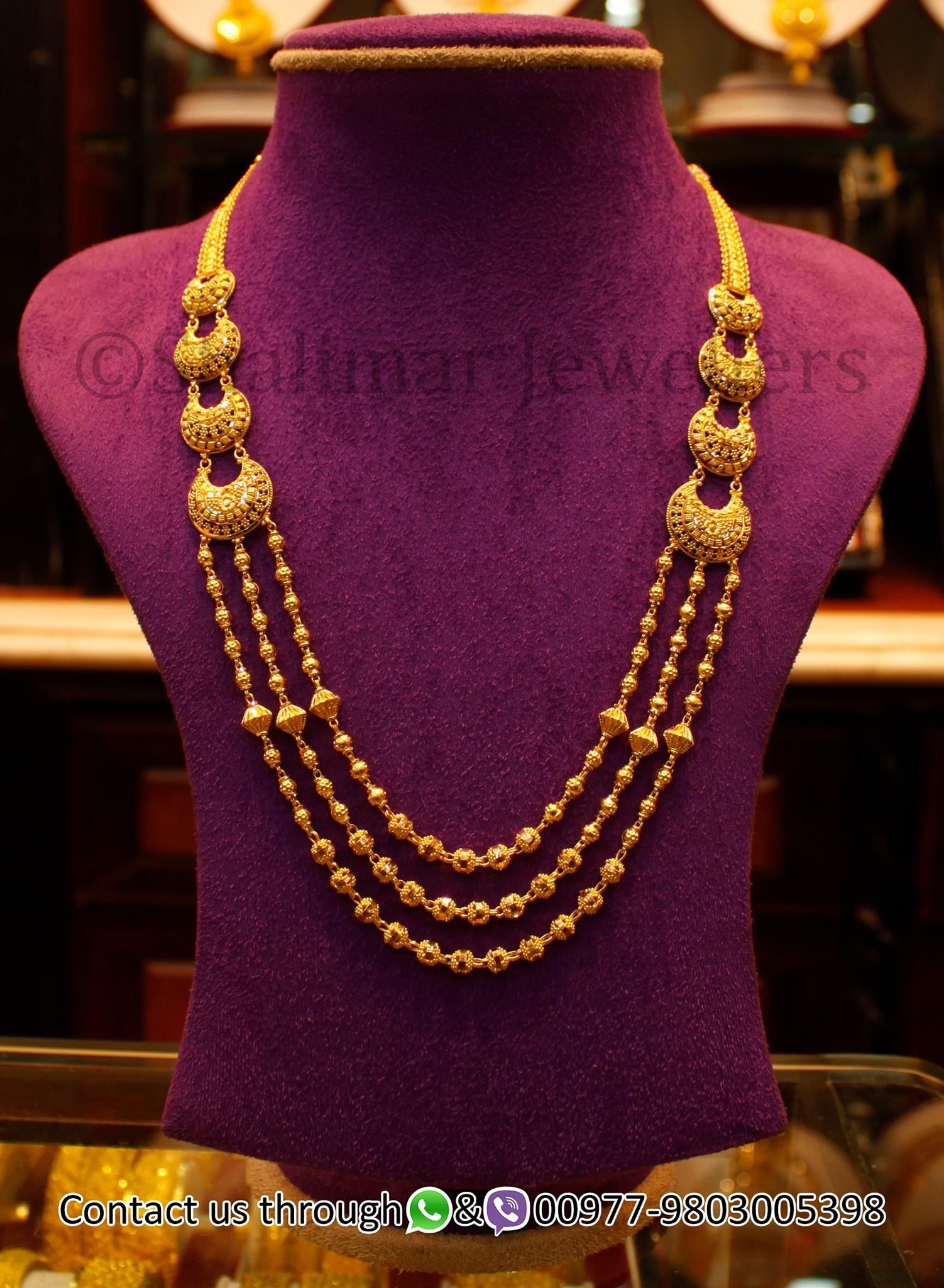 Gold rani haar pictures to pin on pinterest - Gold Jewelry