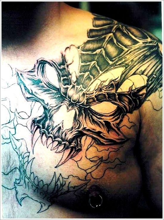 35 Bad Ass Evil Tattoo Designs A Tattoo Addiction Pinterest