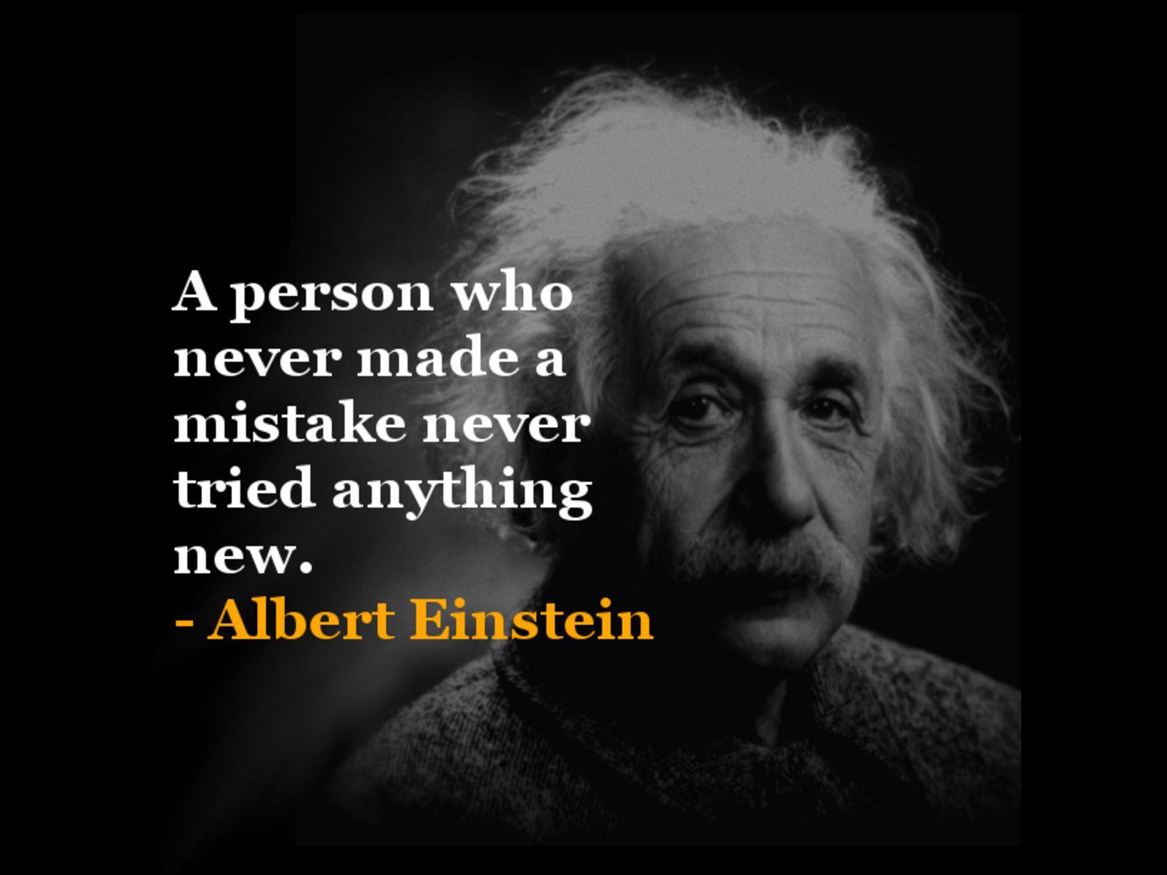 Albert Einstein Famous Quotes With Images - MagMent  Einstein