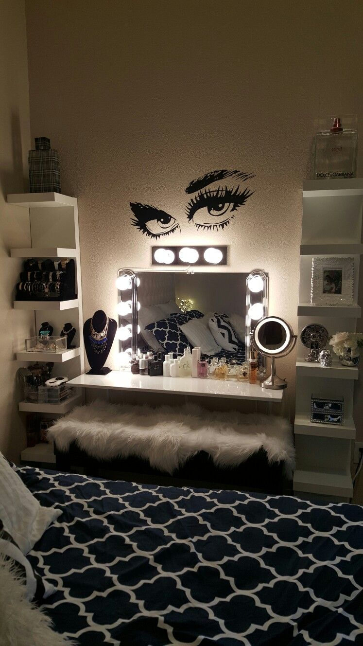 Hollywood Mirror Room Decor Bedroom Cute Room Decor