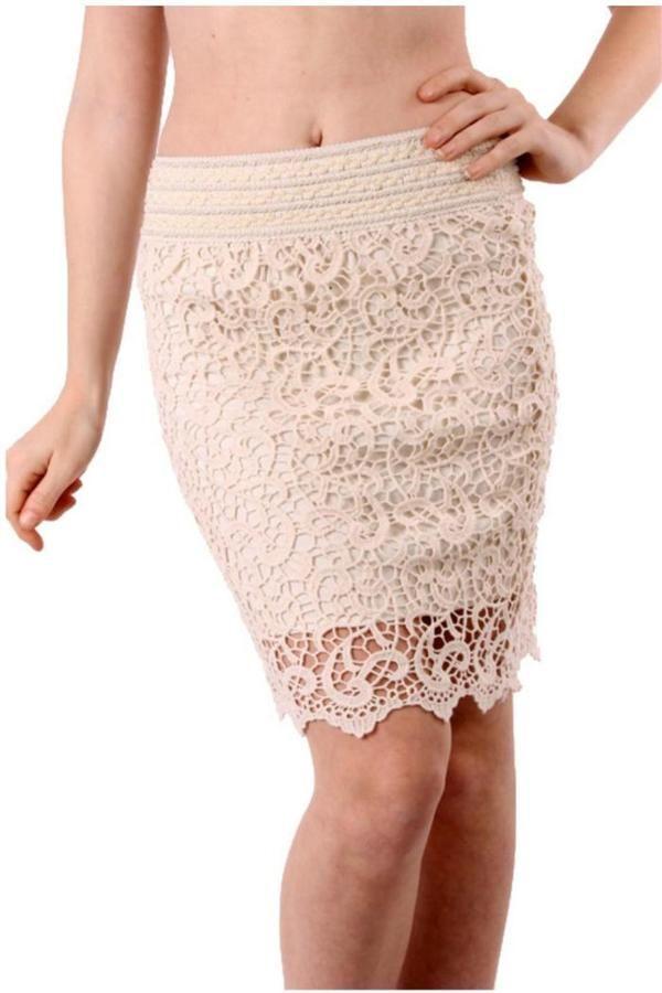 Van Diva's Crochet Cutie Ivory Skirt  Price : 18.88$