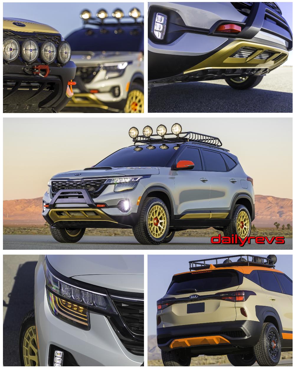 2019 Kia Seltos XLine Concept HD Pictures, Videos