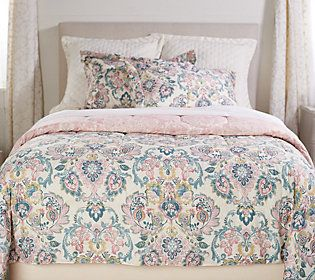 3-Piece King Jacobean Comforter Set by Valerie