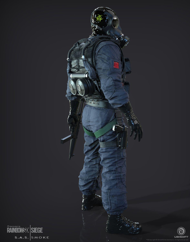 Smoke Smoke SAS Operator I created for Tom Clancy's