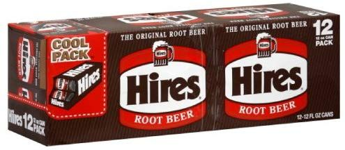 Amazon.com : Hire's Root Beer 12 pack, 12-ounces (Pack of2 ...