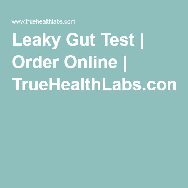 Leaky Gut Test | Order Online | TrueHealthLabs.com