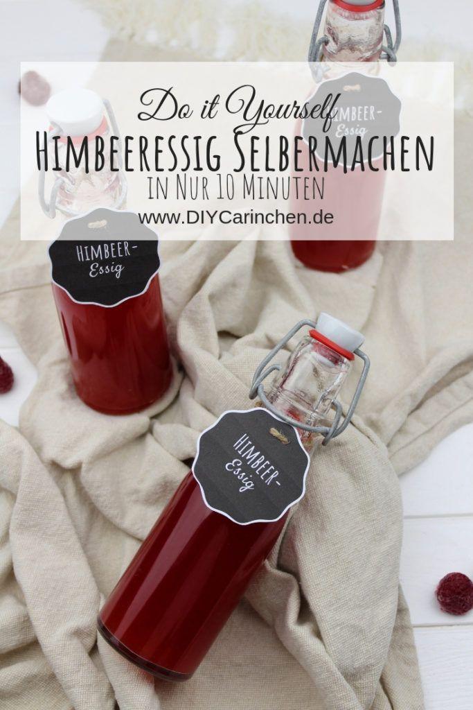 Photo of Recipe – make raspberry vinegar yourself – it's that easy