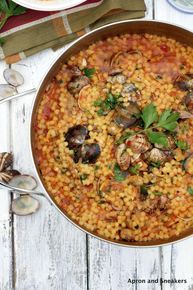 Sardinian Pasta with Clams                                                                                                                                                                                 More