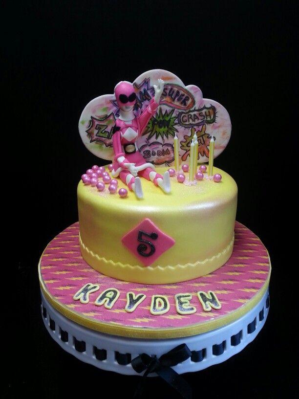 Pink Power Ranger Power Ranger Birthday Power Ranger