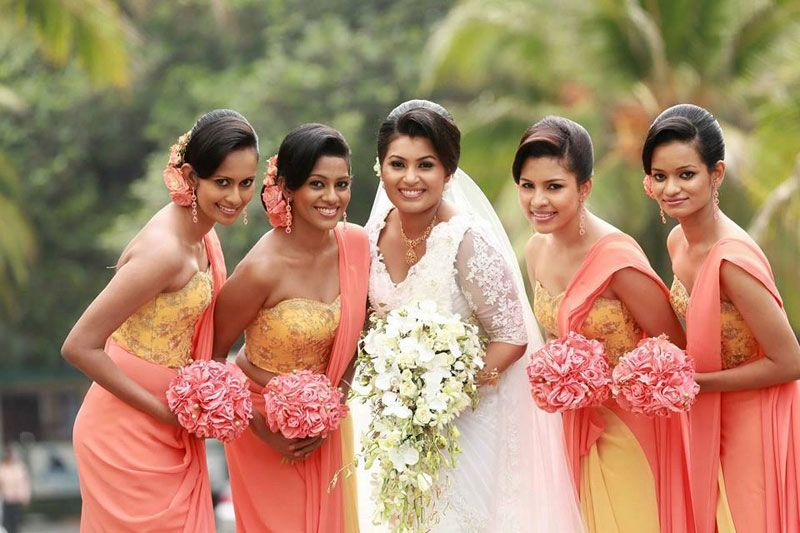 Sri Lanka Kandyan Flower Girl Dresses