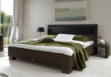 Camas de rattan en dormitorios modernos   Bed design, Bedrooms and ...