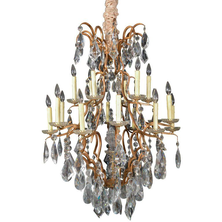 Mansonier Versailles Chandelier Pendant Eighteen Light