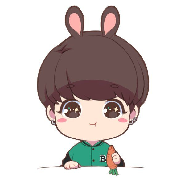 OMG JTS ITS hybrid bunny Kookie is eating a carrot and it ...