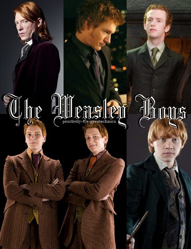 Oh Those Brothers 3 Harry Potter Obsession Fred Weasley Harry Potter Fandom