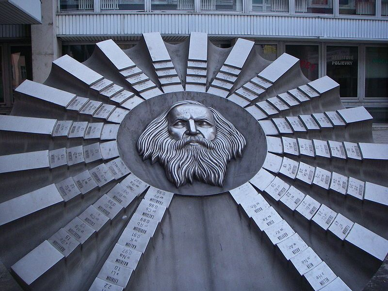 A sculpture in honor of Dmitry Mendeleev and his Periodic table in - best of tabla periodica julius lothar meyer