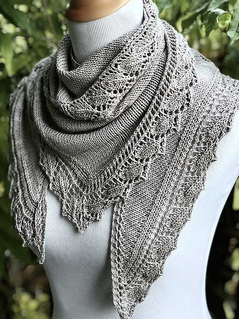Ravelry: KayHopkins\' Eve Shawl | Knitting | Pinterest | Chal