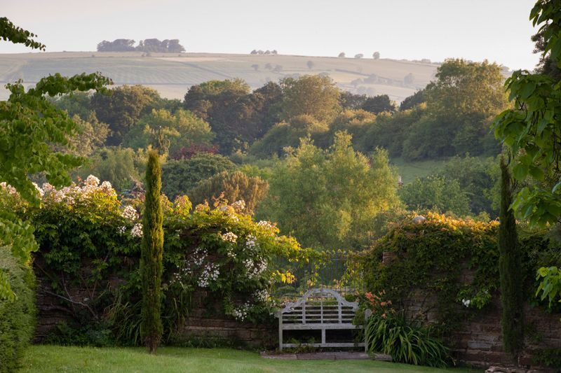 "nordicsublime: ""Borrowed View, Whichford House garden ..."