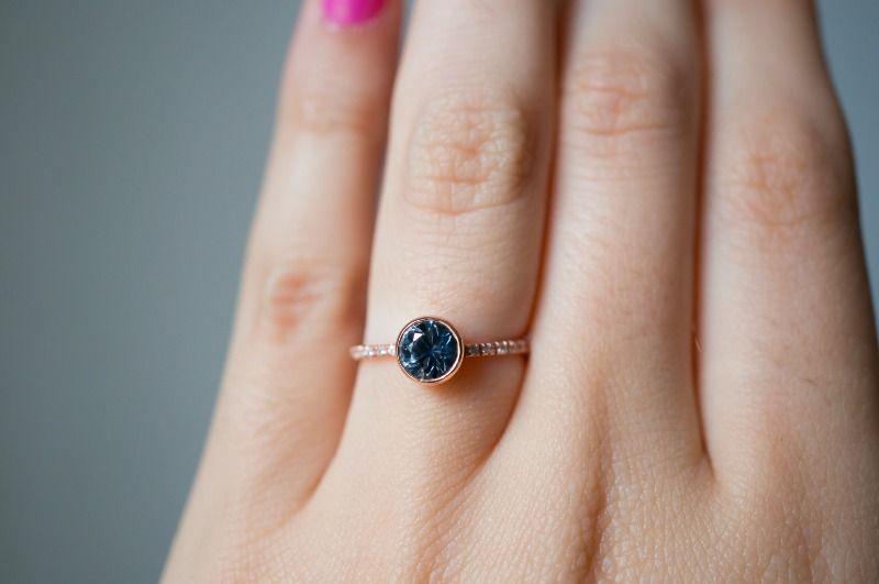 The perfect one carat Montana Sapphire