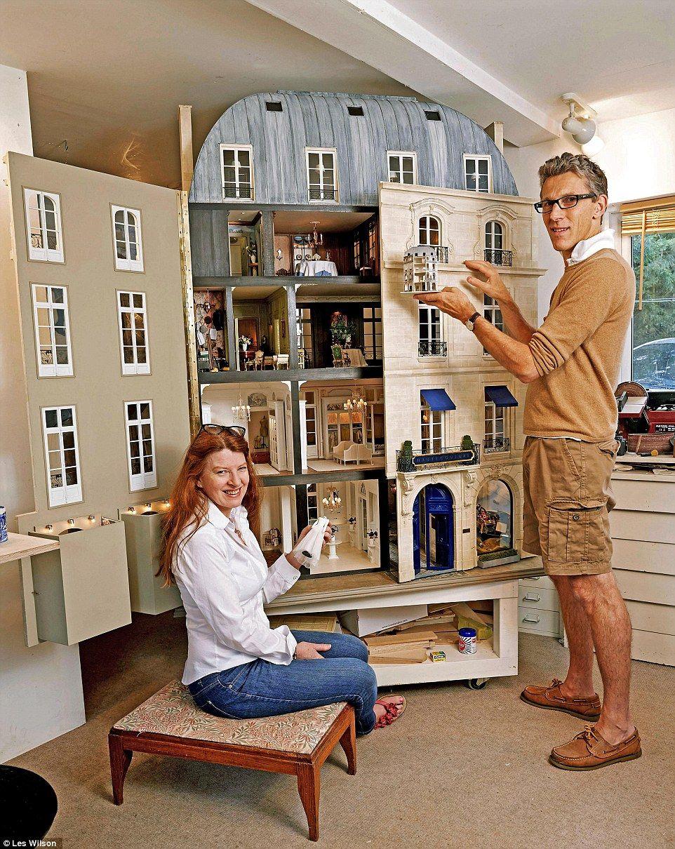 Mulvany Rogers Mini Doll House Barbie House Miniatures