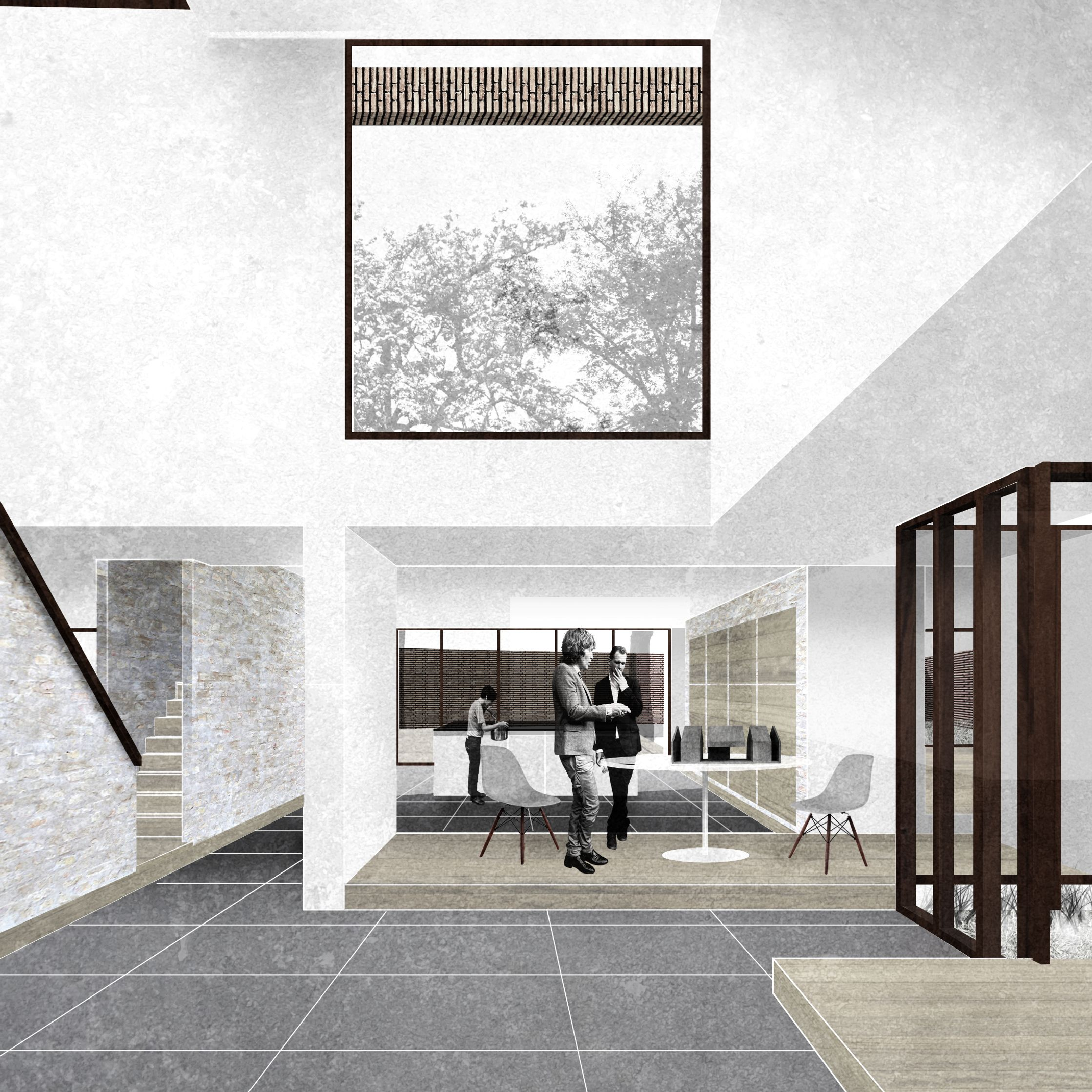 Interior impression house for an extended family art of for House plans for extended family