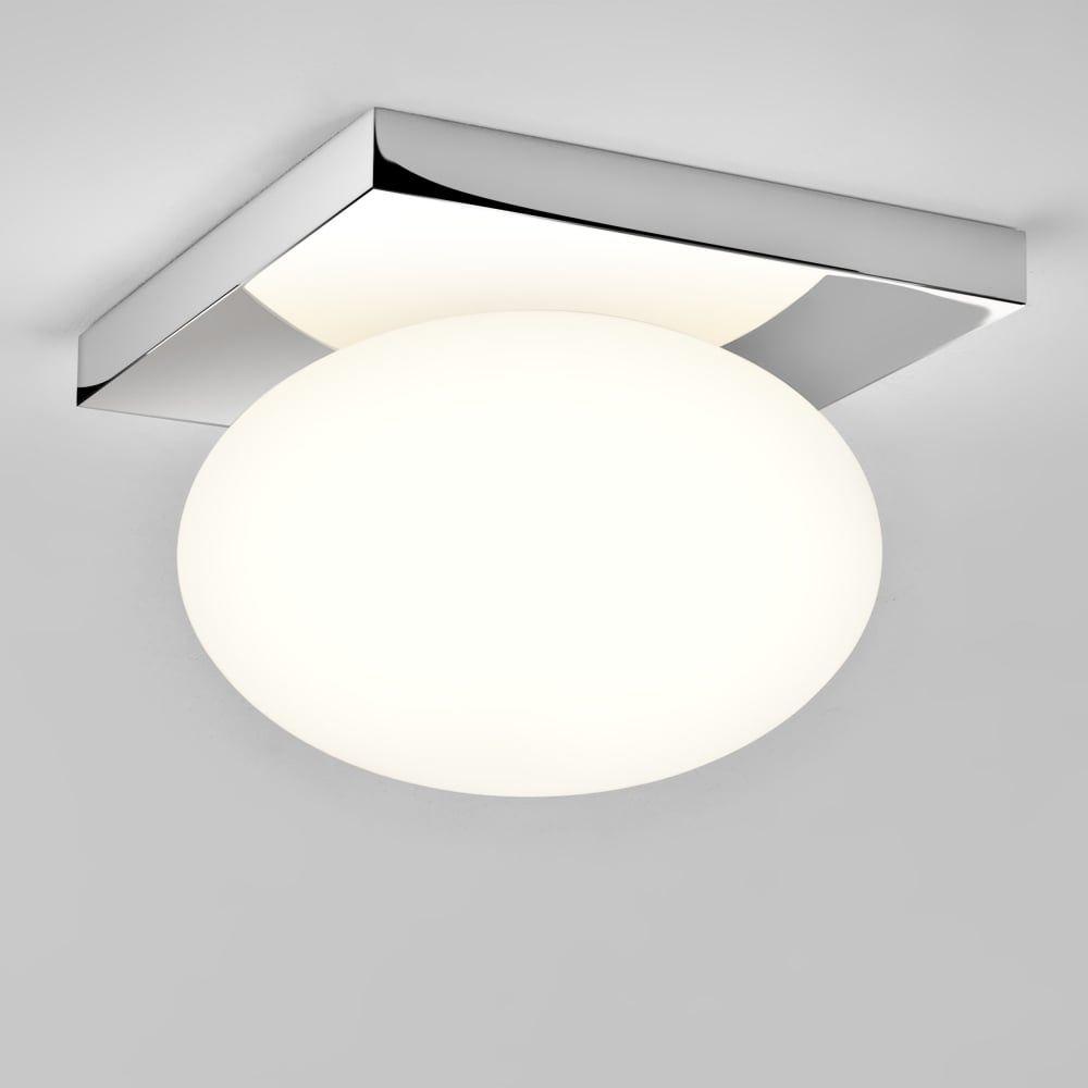 Astro Astro Castiro 225 Ip44 Opal Glass Bathroom Ceiling Light Simple Bathroom Ceiling Light Inspiration Design