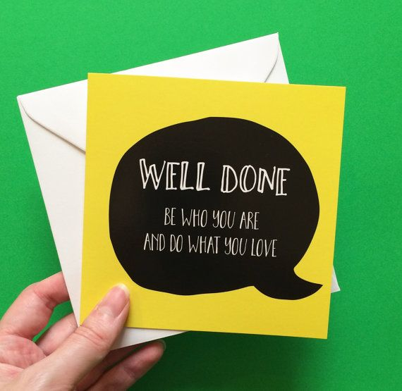 Well done card congratulations friend card Shakespeare quote - job well done