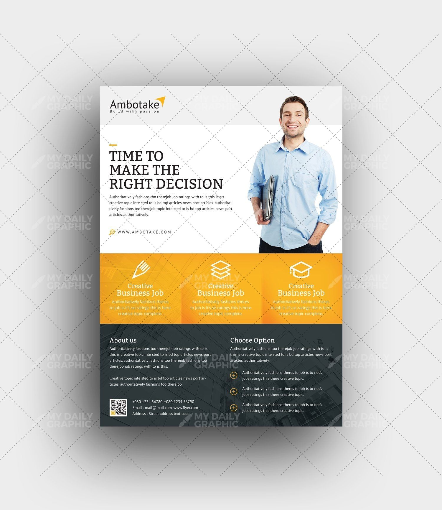 Career Management Business Flyer Template Flyers Flyer Template