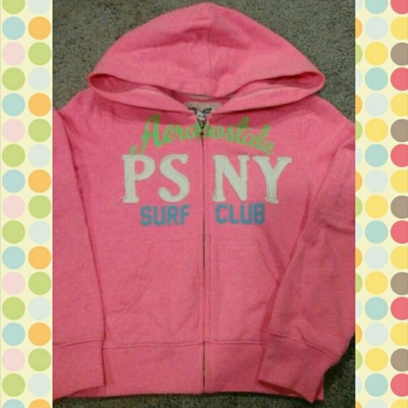 P.S. from Aeropostale (girls sweat top) Girls sweat top/shirt with hood and zipper Aeropostale Other