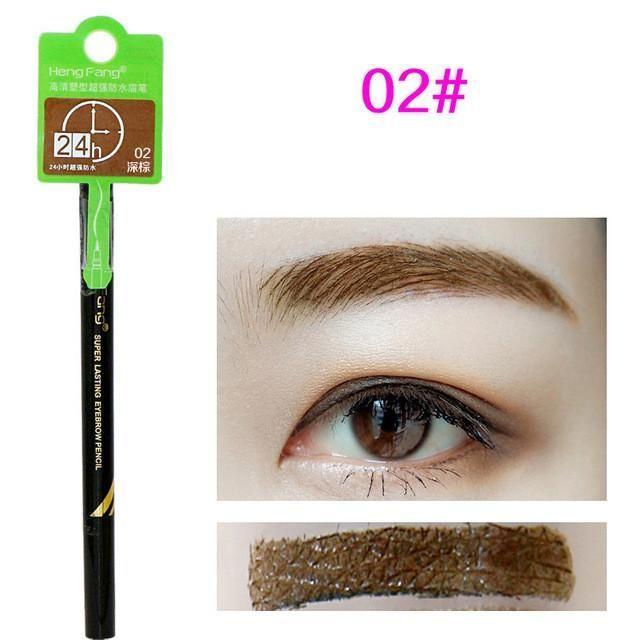 Hengfang Brand Makeup Eyes Tattoo Long Lasting Black Brown Eye Brow