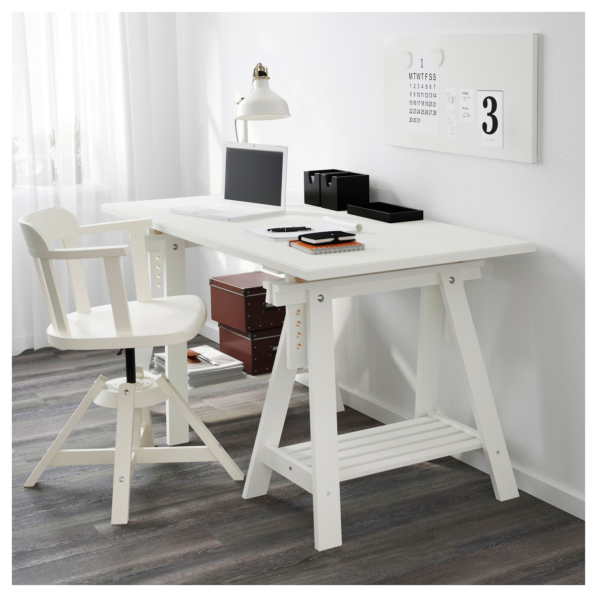 buy office desk natural. IKEA KLIMPEN/FINNVARD Table Solid Wood Is A Durable Natural Material. Buy Office Desk