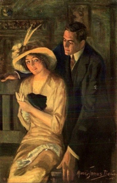 Alfred James Dewey (1874 – 1958), Love Signal: Do You Love Me?
