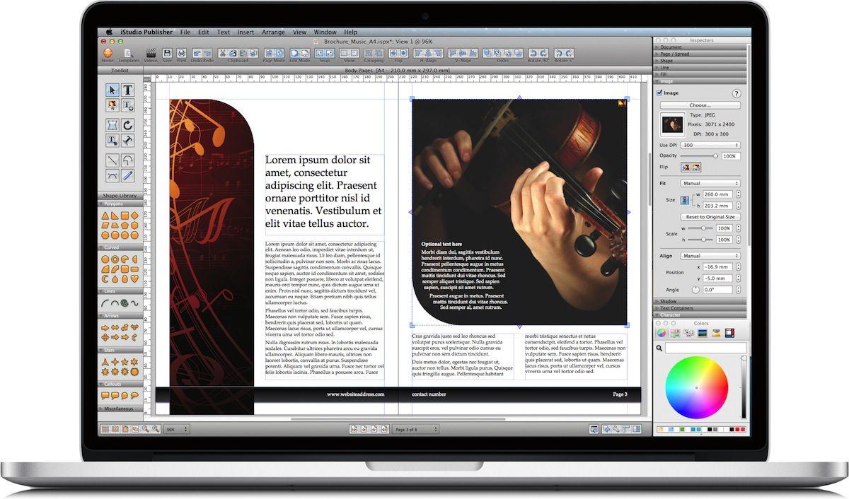 iStudio Publisher - Page Layout Software for Desktop