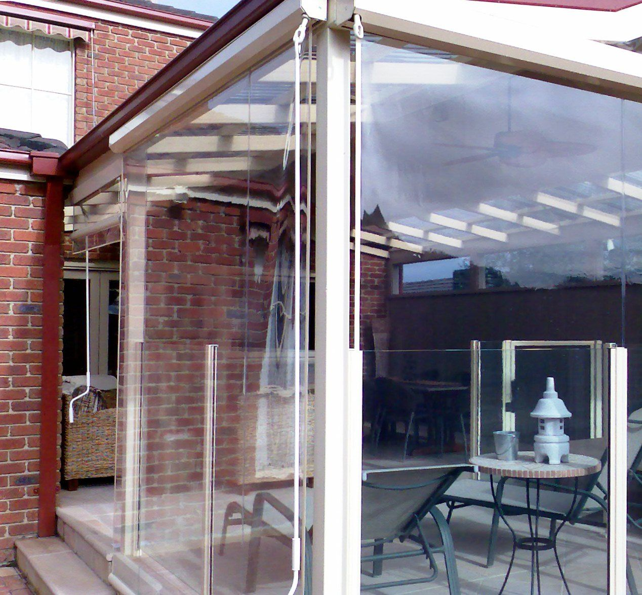 Artistic Outdoor Pergola Blinds, Pergola Blinds, Cafe ...