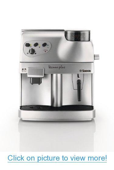 Philips Saeco RI9737/20 Vienna Plus Automatic Espresso Machine, Silver #Philips #Saeco #RI9737_20 #Vienna #Plus #Automatic #Espresso #Machine #Silver