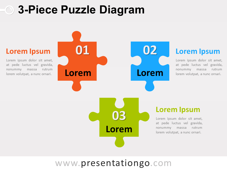 3 piece puzzle diagram for powerpoint presentationgo diagram 3 piece puzzle diagram for powerpoint presentationgo ccuart Choice Image