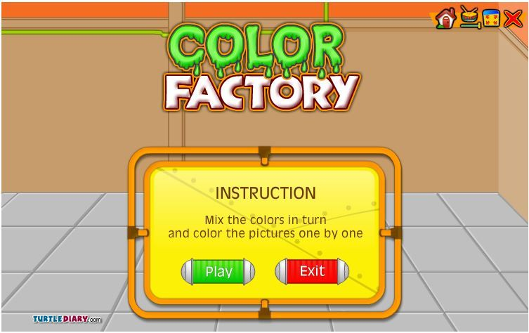 Online Game That Practices Mixing Colors Great For Use With An Interactive White Board Or Compu Online Games For Kids Smart Board Activities Fun Online Games
